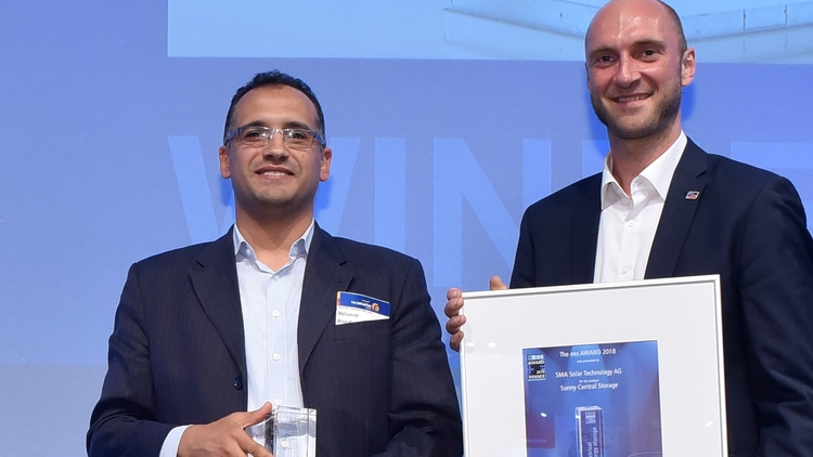 ees AWARD 2018 Testimonial Mohamed Mostafa and Johannes Ott from SMA